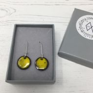 Jane Marshall Round Drop Earrings (Yellow)